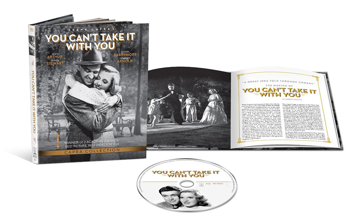 You Can't Take It With You - Blu-ray