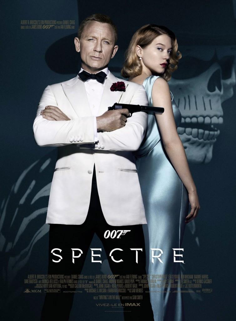 007 Spectre - Affiche