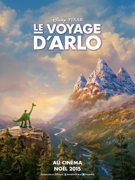 Le Voyage d'Arlo - Affiche française