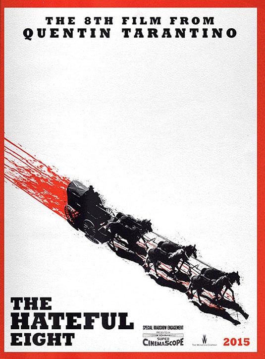 Les Huit salopards - Affiche teaser US De Ford