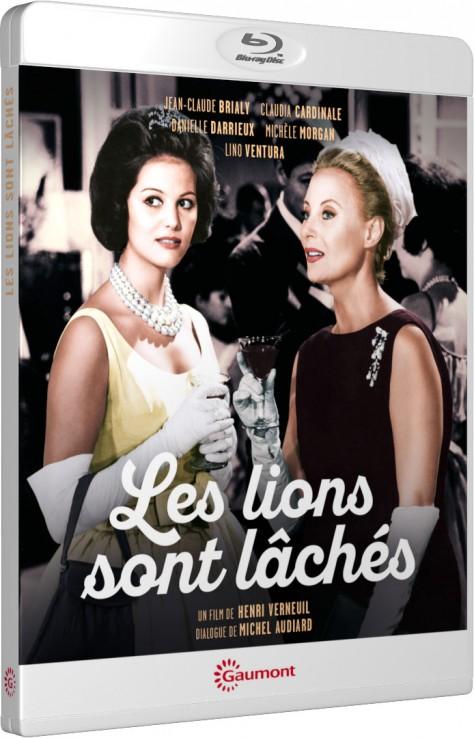 Les Lions sont lâchés - Packshot Blu-ray Gaumont Découverte