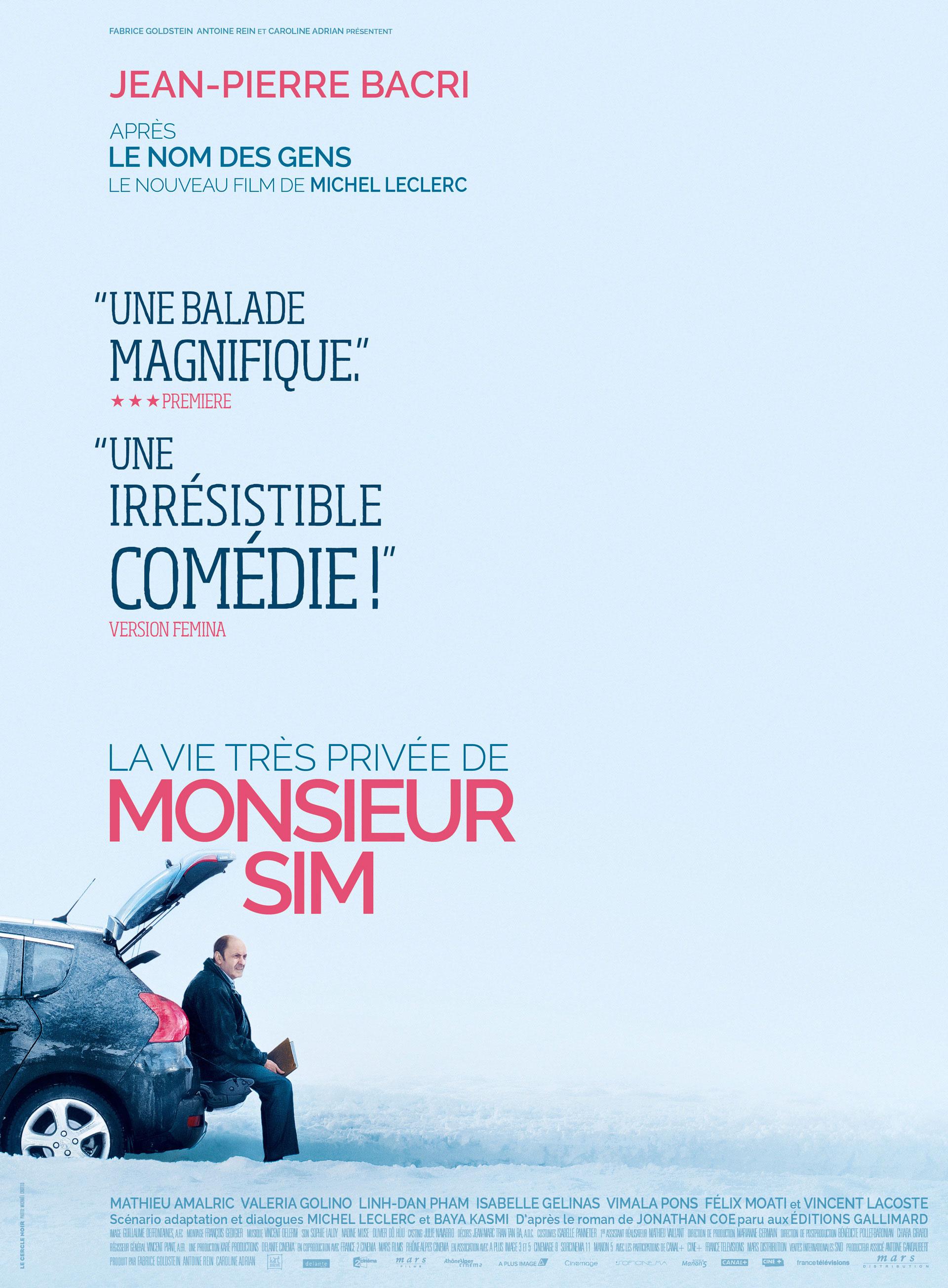 Monsieur Sim - Affiche