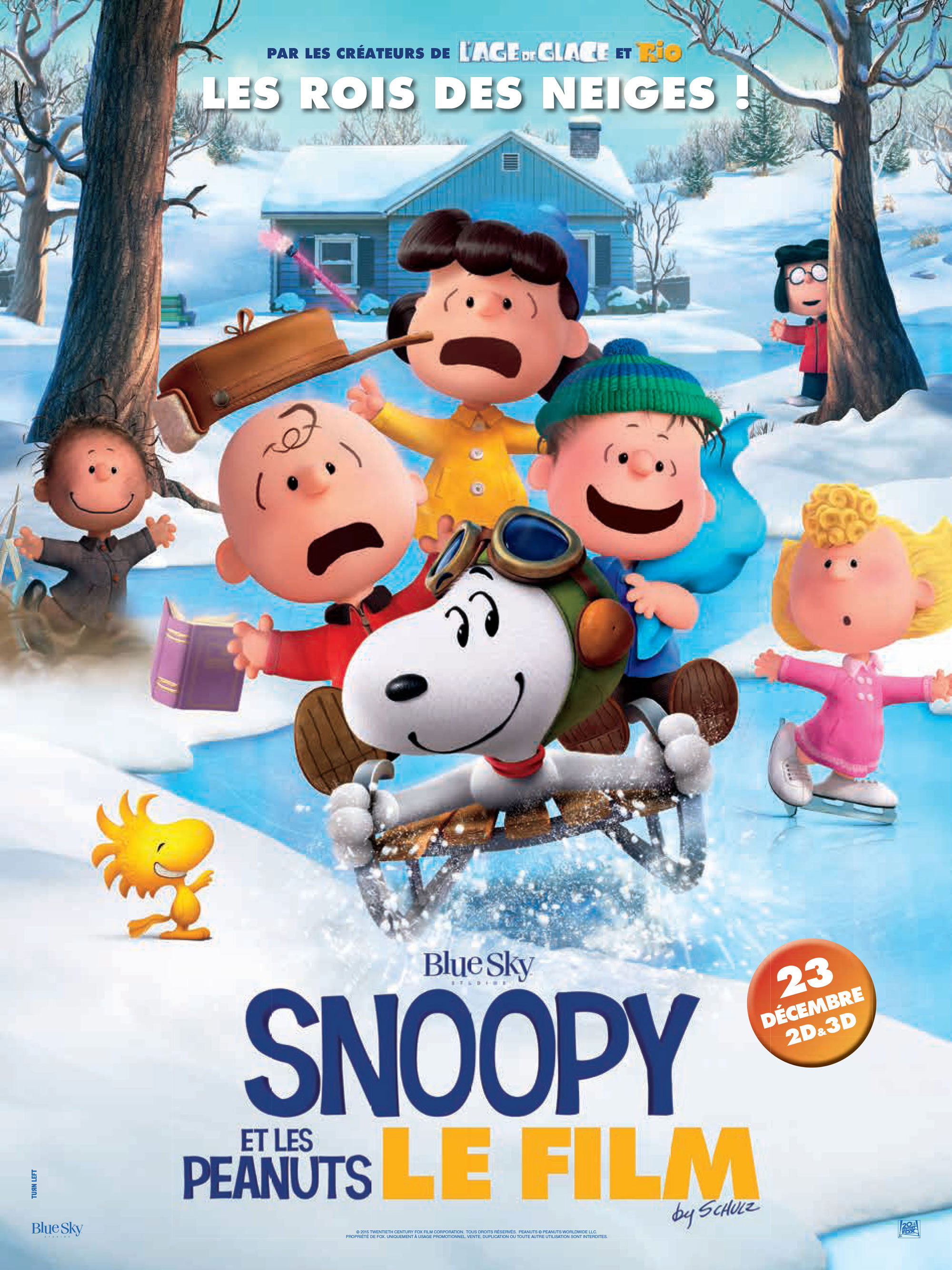 Snoopy - Affiche France