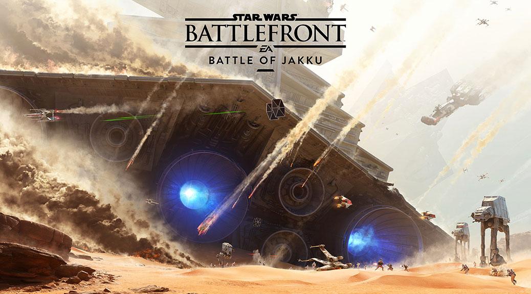Star Wars Battlefront - La Bataille de Jakku