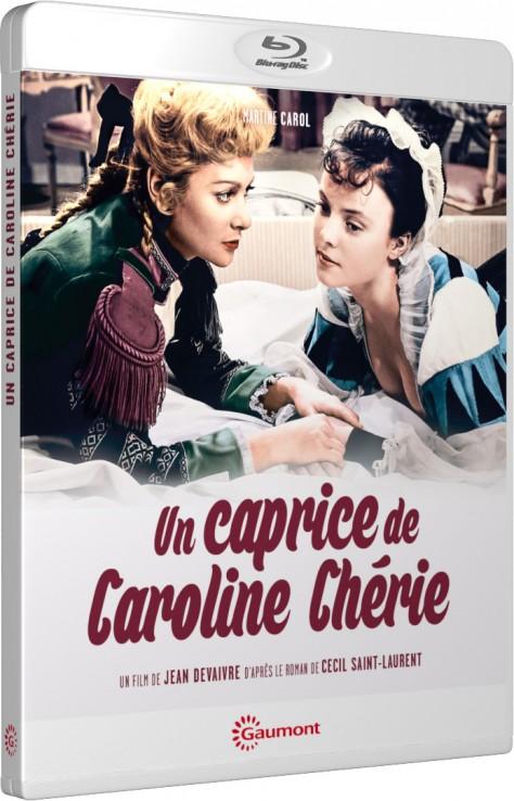 Un caprice de Caroline Chérie - Packshot Blu-ray Gaumont Découverte