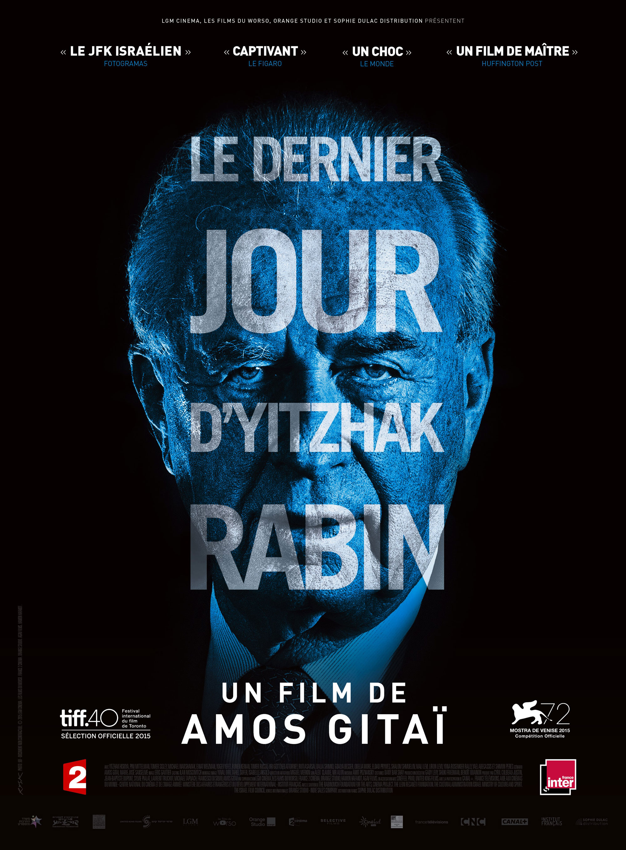 Le Dernier jour d'Yitzhak Rabin - Affiche