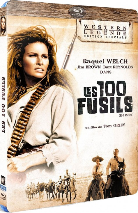 Les 100 fusils - Blu-ray
