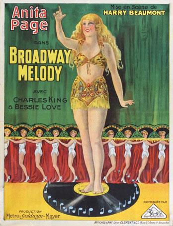 Broadway Melody - Affiche FR