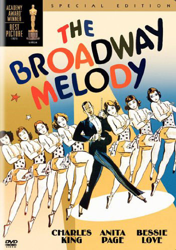 Recto DVD Zone 1- The Brodway Melody