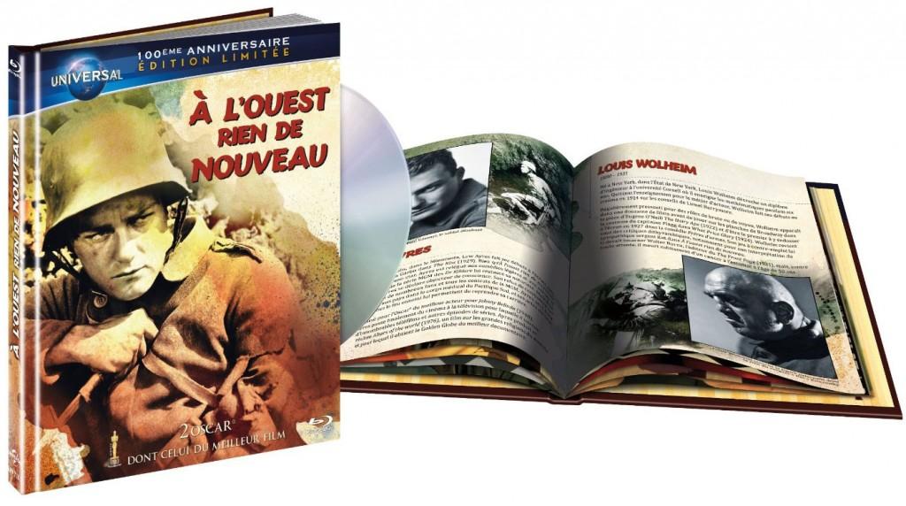 À l'Ouest rien de nouveau - Recto Blu-ray France
