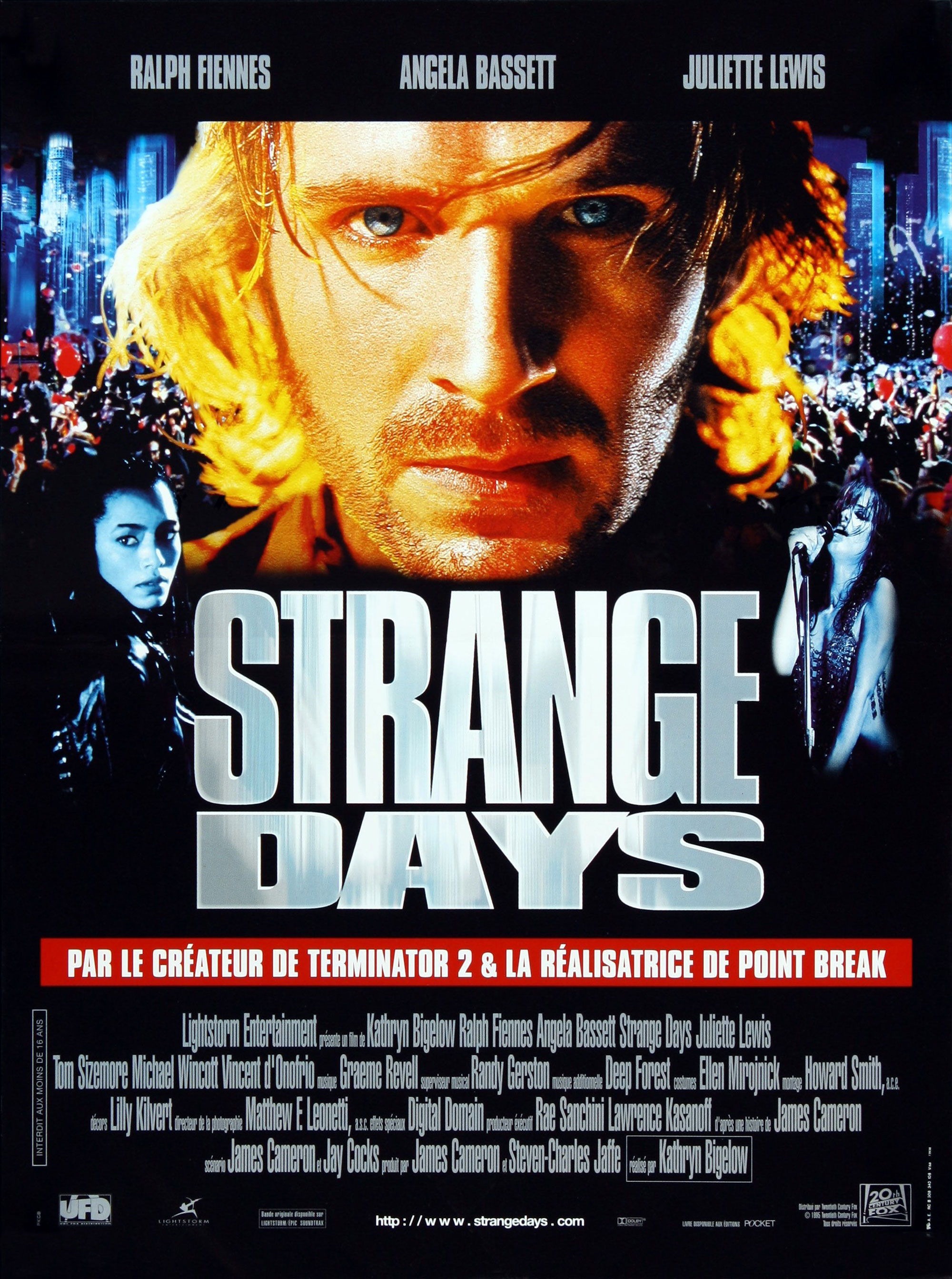 Strange Days - Affiche française
