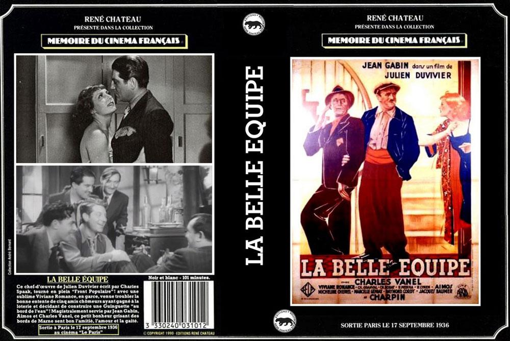 La Belle équipe - Recto VHS