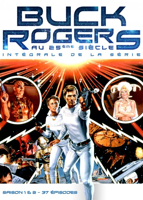 Buck Riogers - Recto Coffret DVD