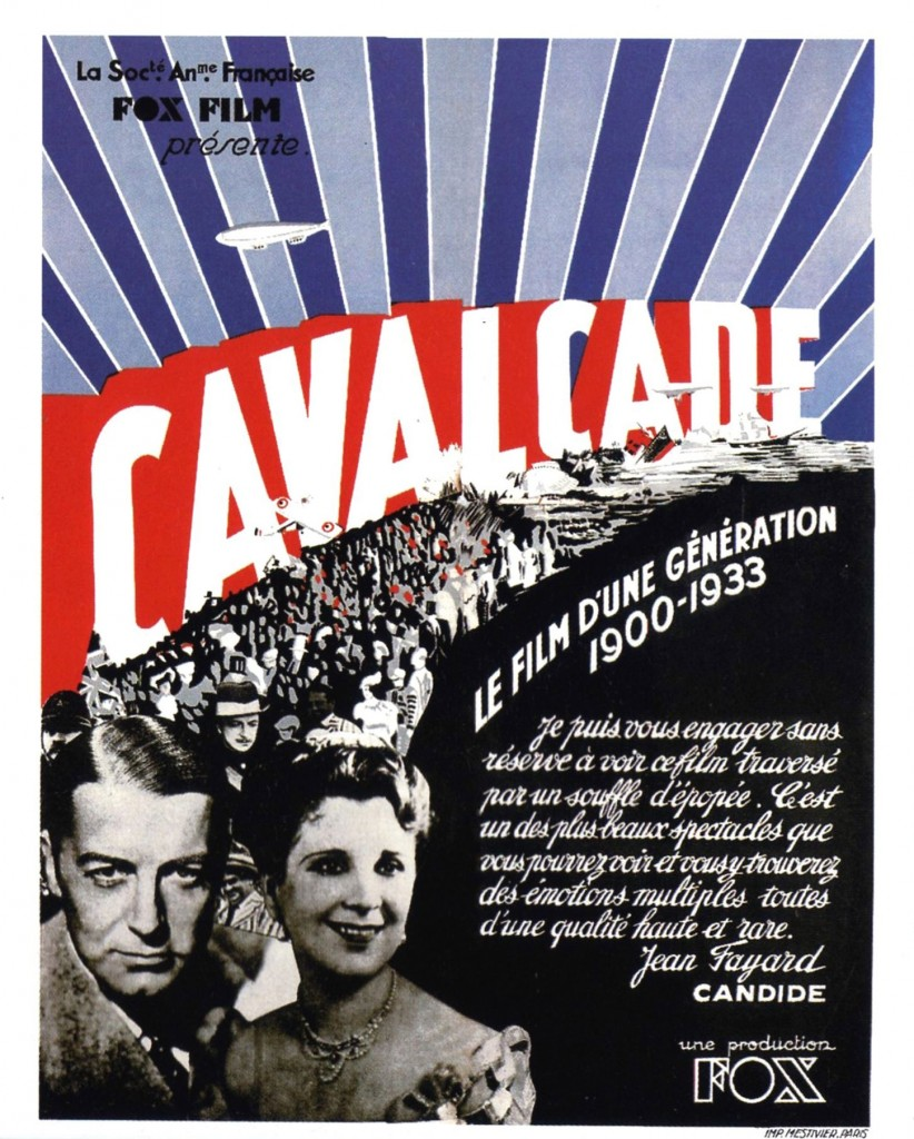 Cavalcade - Affiche FR