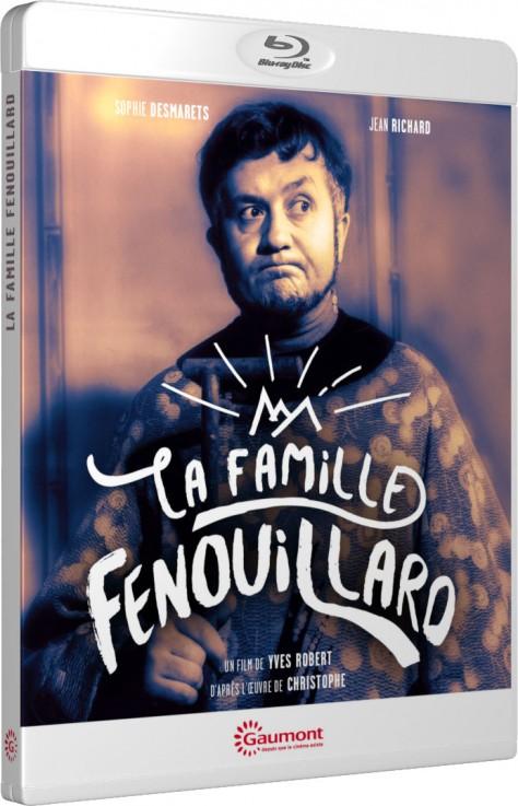 La Famille Fenouillard - Packshot Blu-ray Gaumont Découverte