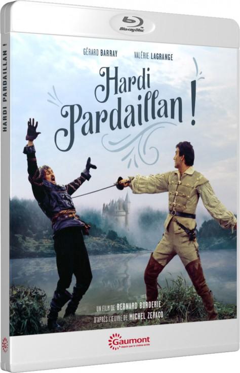 Hardi Pardaillan ! - Packshot Blu-ray Gaumont Découverte