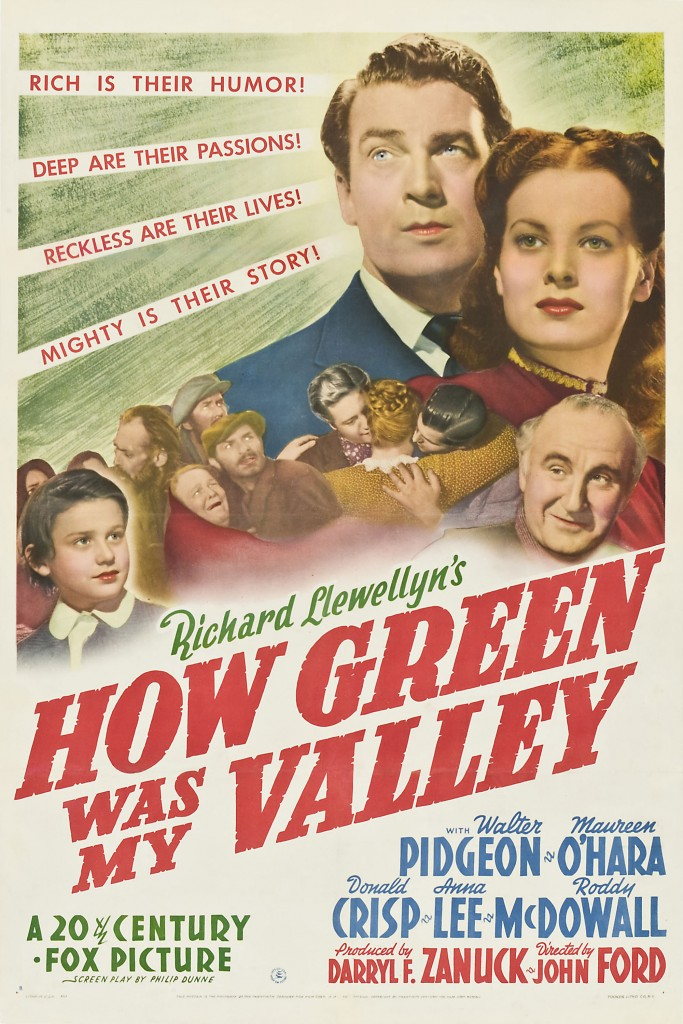 How Green Was My Valley - Affiche US