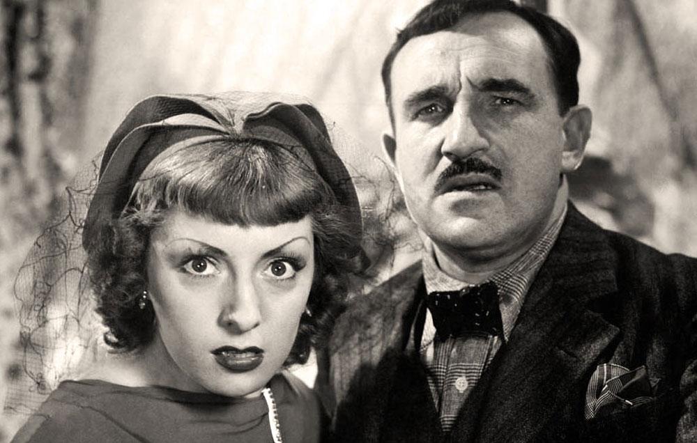 La Belle équipe - Viviane Romance et Charles Vanel