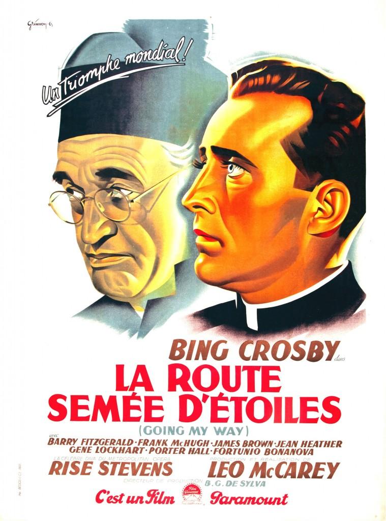 La Route semée d'étoiles - Affiche FR