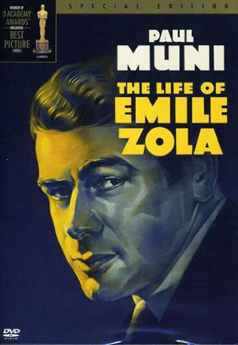 The Life of Emile Zola - Recto DVD US