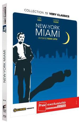 New York-Miami - Recto Blu-ray France