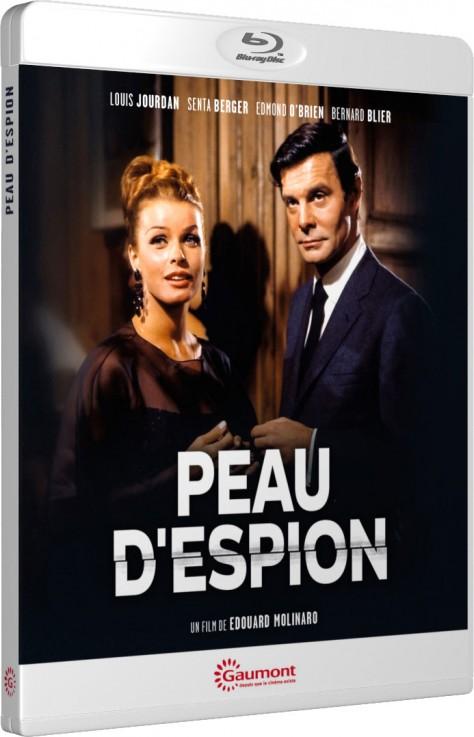 Peau d'espion - Packshot Blu-ray Gaumont Découverte