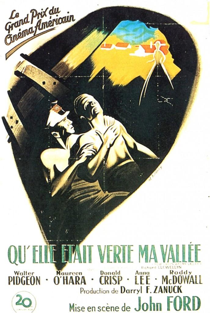 Qu'elle était verte ma vallée - Affiche France