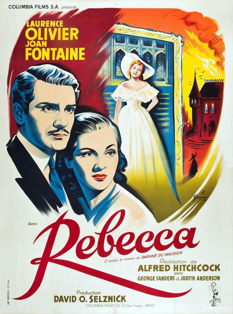 Rebecca - Affiche France