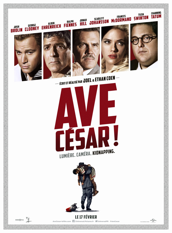 Avé César - Affiche