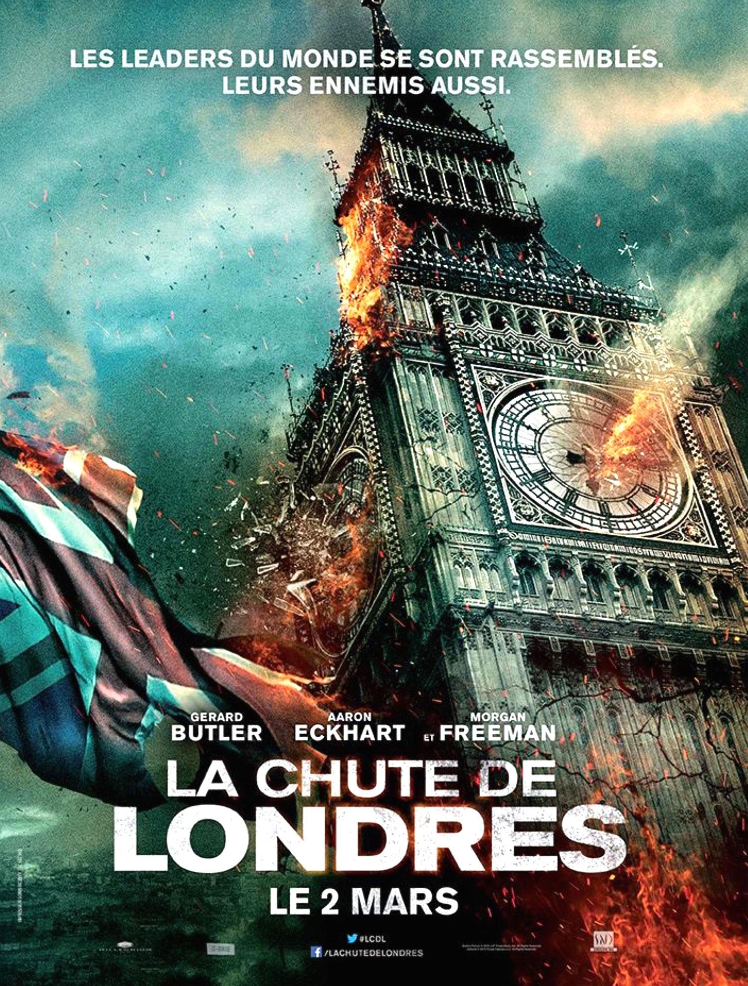 La Chute de Londres - Affiche