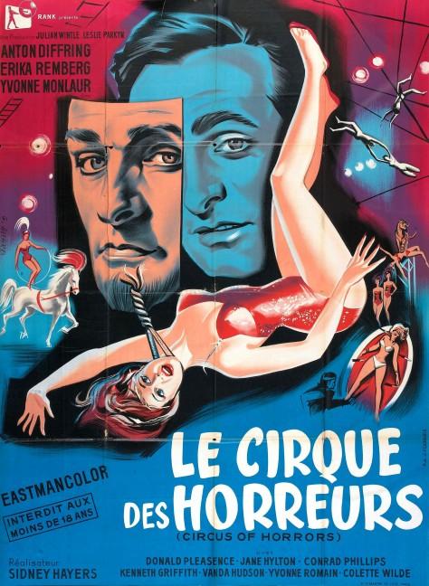 Le Cirque des horreurs - Affiche FR