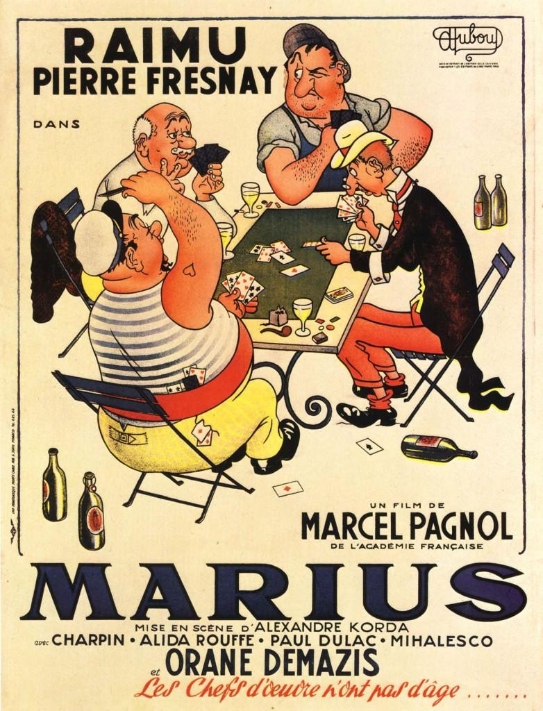 Marius - Affiche