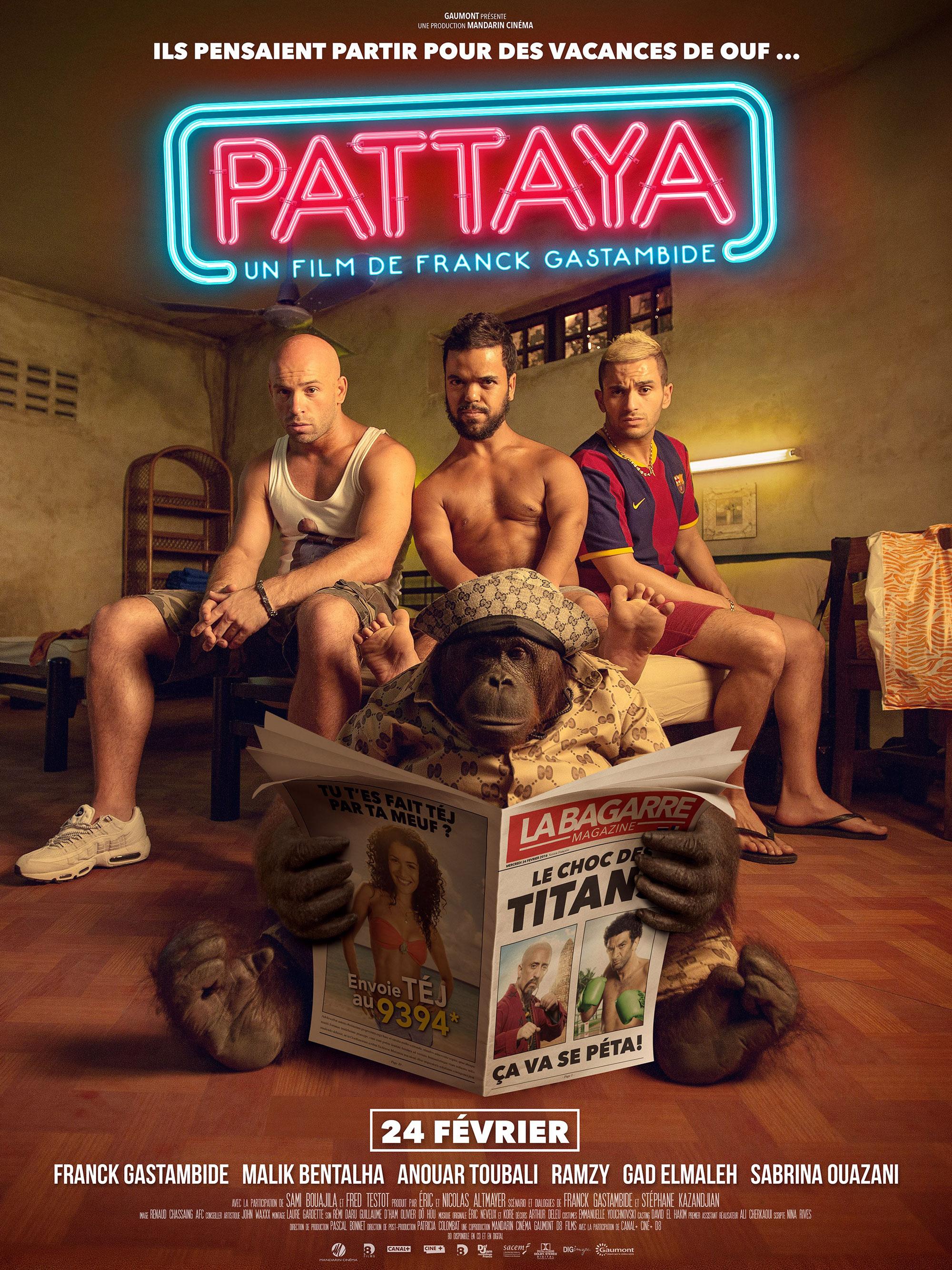 Pattaya - Affiche