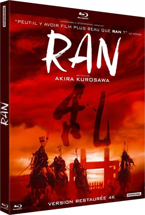 Ran - Version restaurée 4K - Packshot Blu-ray