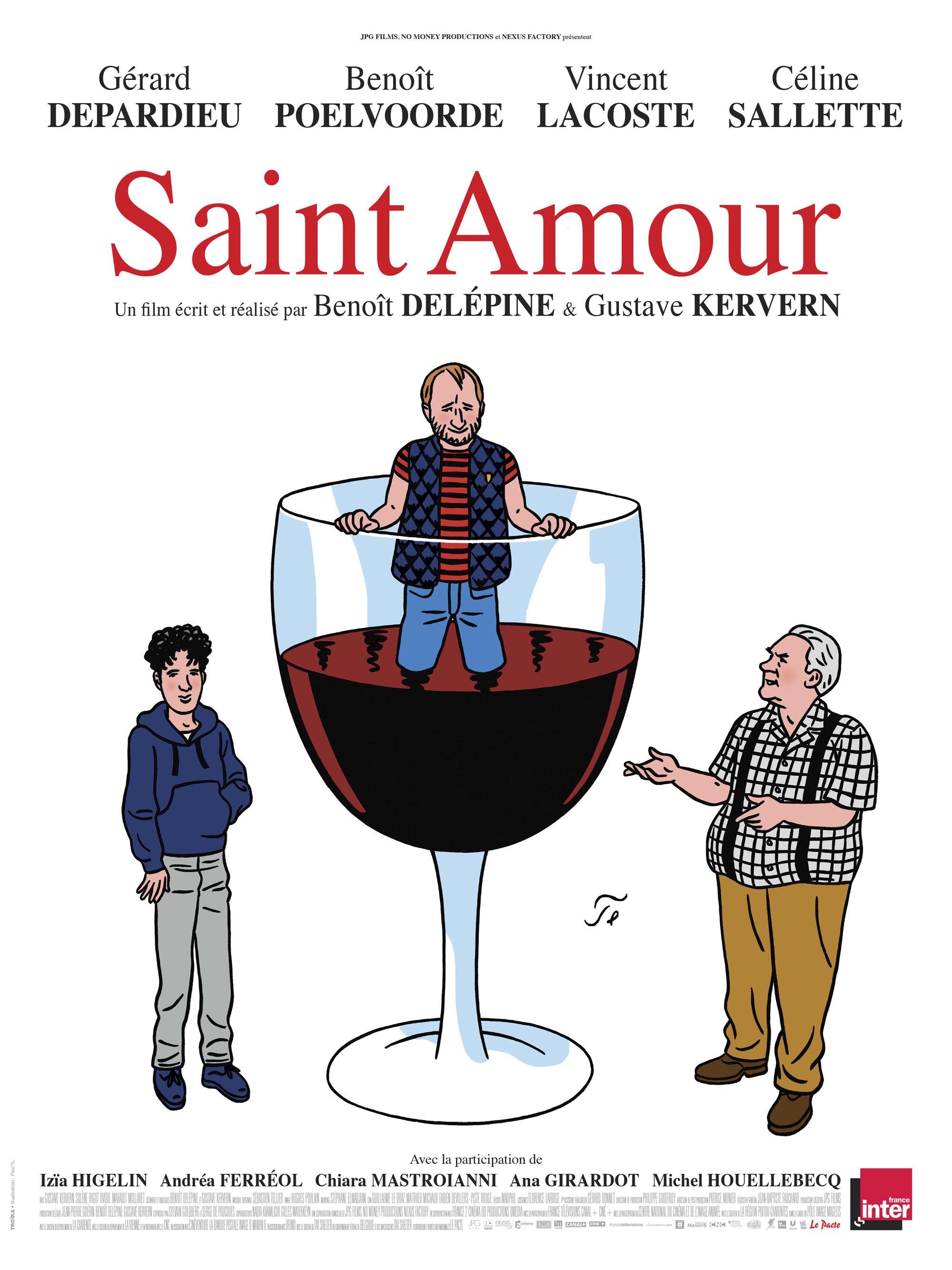 Saint Amour - Affiche