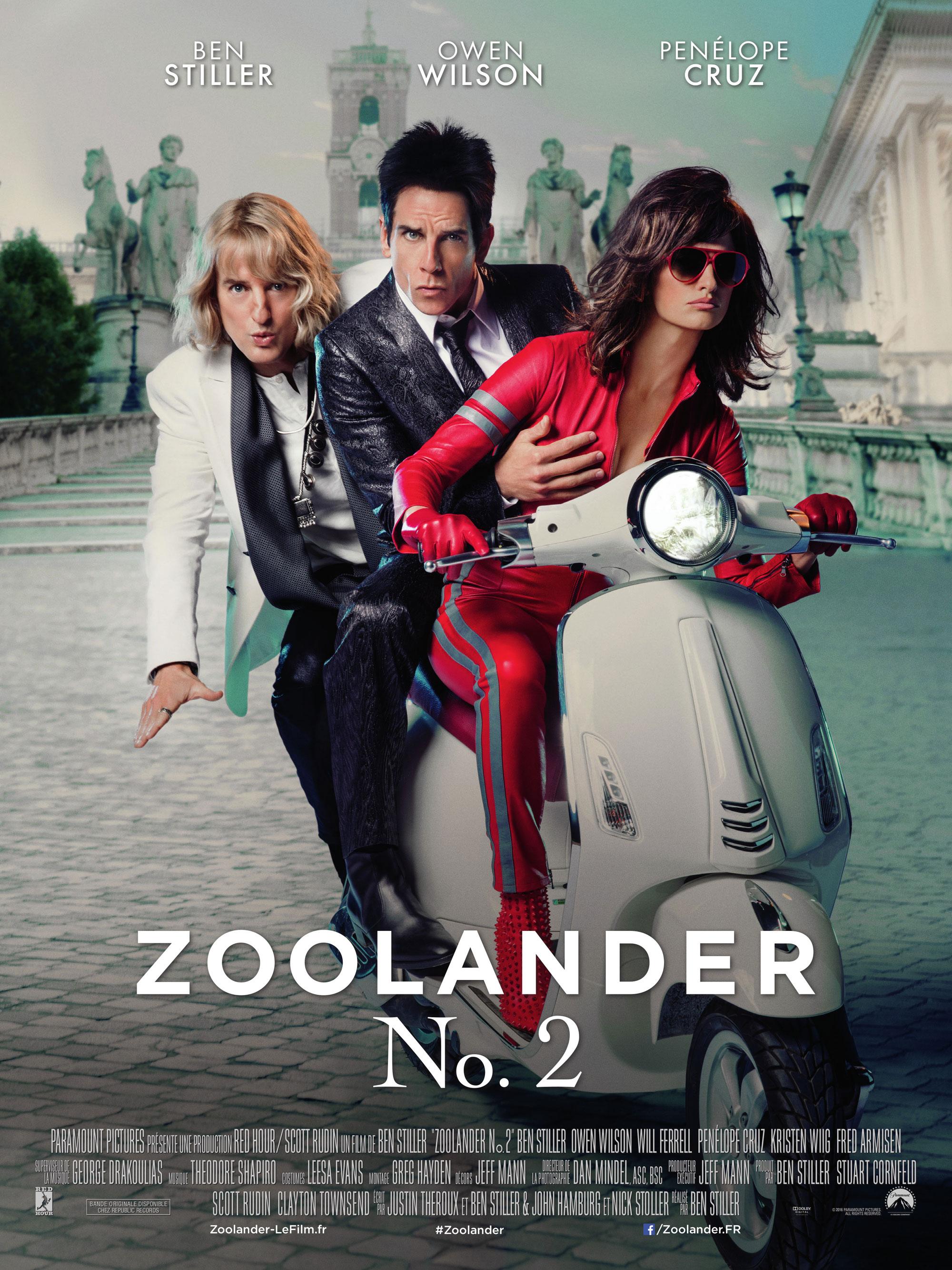 Zoolander 2 - Affiche
