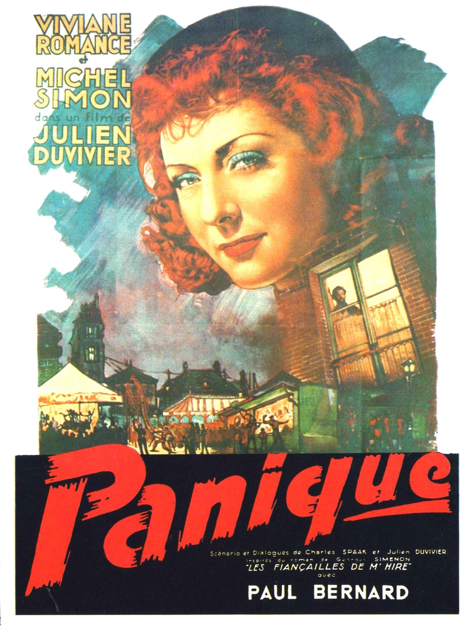 Panique - Affiche 1946