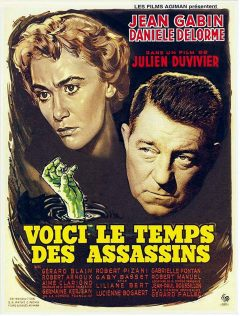 Voici le temps des assassins - Affiche 1956