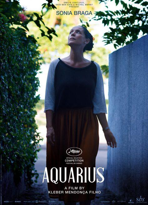 Aquarius - Affiche Cannes 2016