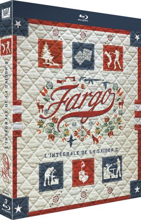 Fargo Saison 2 - Cover 3D Blu-ray