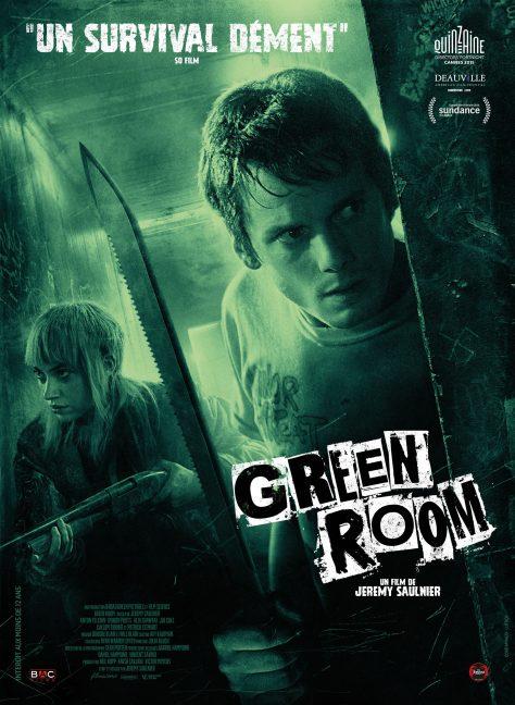 Green Room - Affiche