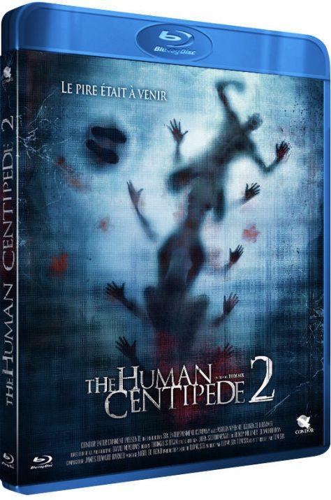 Human Centipede 2 - Packshot Blu-ray