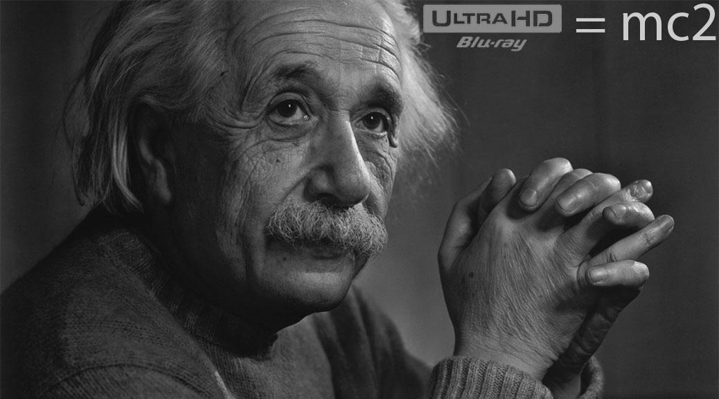 Blu-ray 4K Ultra HD - Albert Einstein