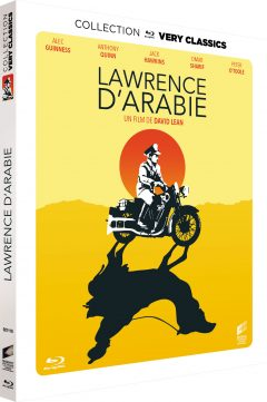 Lawrence d'Arabie - Recto Blu-ray Collection Very Classics