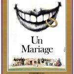 Un mariage - Affiche 1978