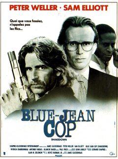 Blue Jean Cop - Affiche France