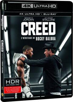 Creed - L'héritage de Rocky Balboa - Packshot Blu-ray 4K Ultra HD