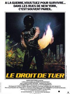 The Exterminator - Affiche France