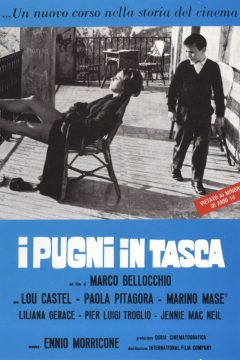 Les Poings dans les poches - Affiche italienne d'époque
