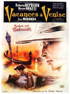 Vacances à Venise - Affiche 1955